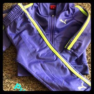 Girls Puma jumpsuit
